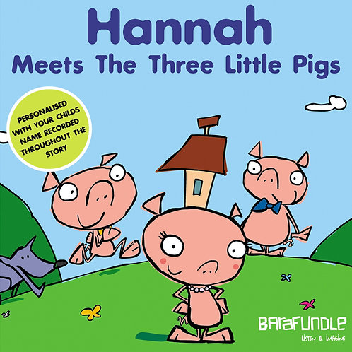 Hannah Meets The Three Little Pigs - Download