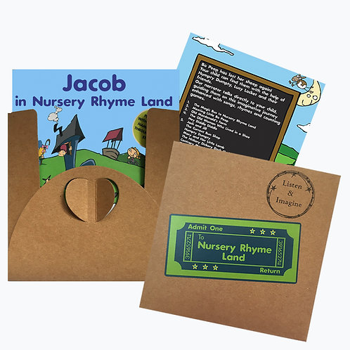 Jacob In Nursery Rhyme Land - Voucher