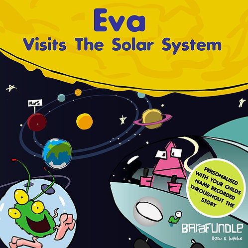 Eva Visits The Solar System