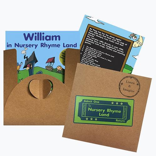 William In Nursery Rhyme Land - Voucher