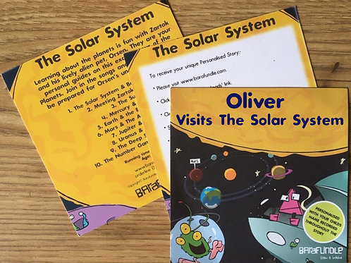Oliver Visits The Solar System - Voucher