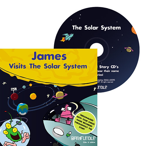James Visits The Solar System - CD