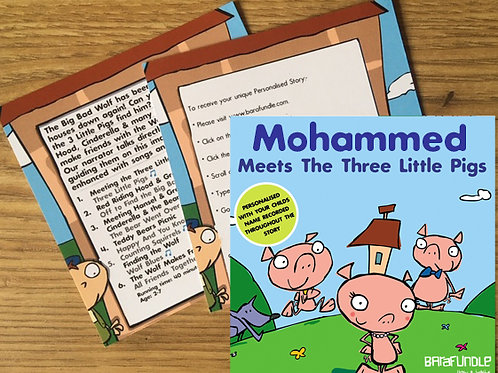 Mohammed Meets The Three Little Pigs - Voucher