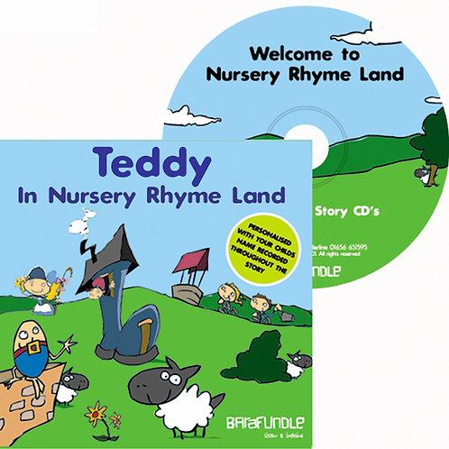 Teddy In Nursery Rhyme Land - CD