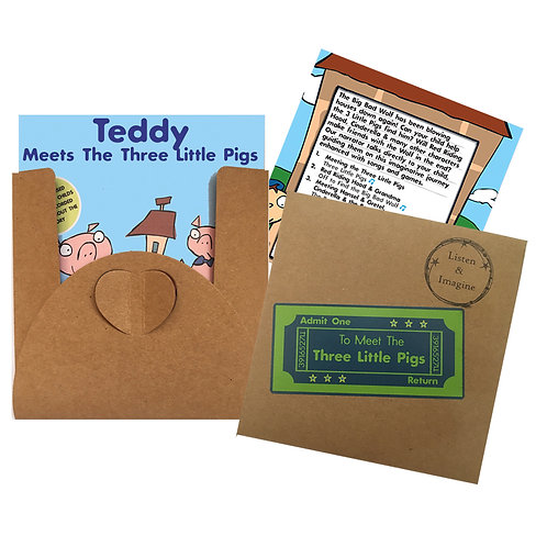 Teddy Meets The Three Little Pigs - Voucher