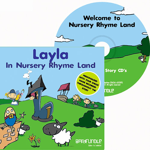 Layla In Nursery Rhyme Land - CD