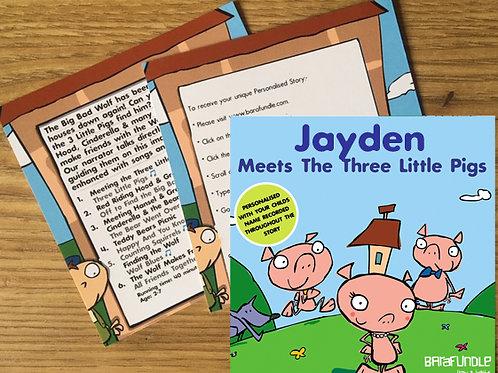 Jayden Meets The Three Little Pigs - Voucher