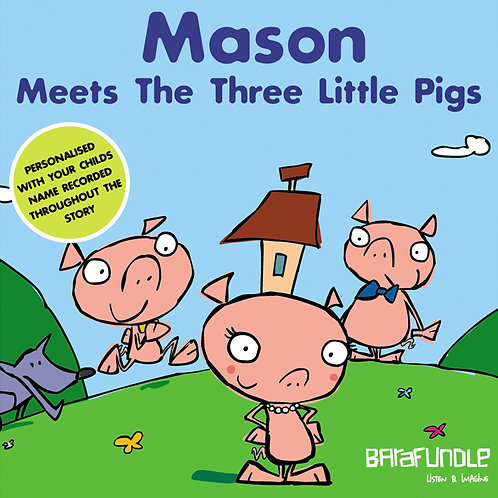 Mason Meets The Three Little Pigs - Download