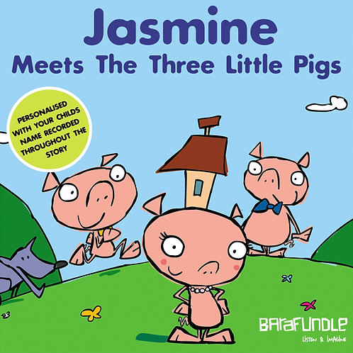Jasmine Meets The Three Little Pigs - Download