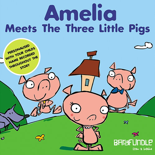 Amelia Meets The Three Little Pigs - Download