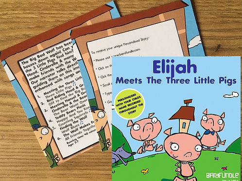 Elijah Meets The Three Little Pigs - Voucher