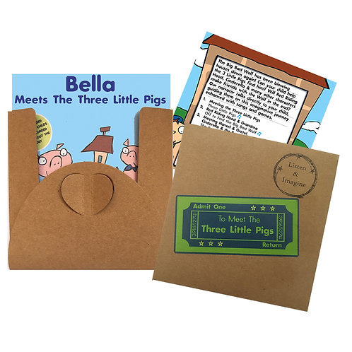 Bella Meets The Three Little Pigs - Voucher