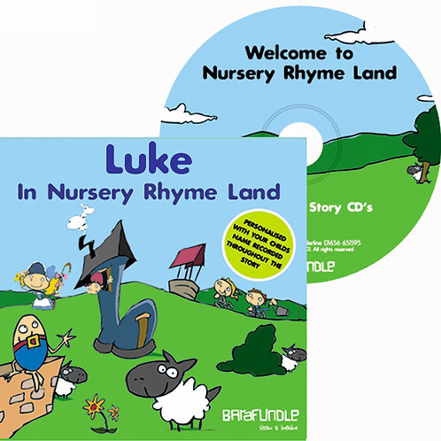Luke In Nursery Rhyme Land - CD