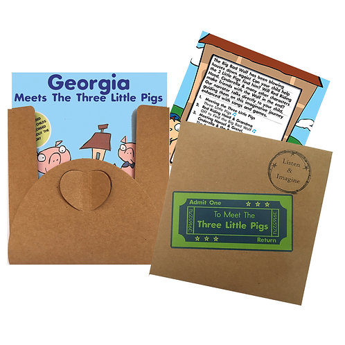Georgia Meets The Three Little Pigs - Voucher