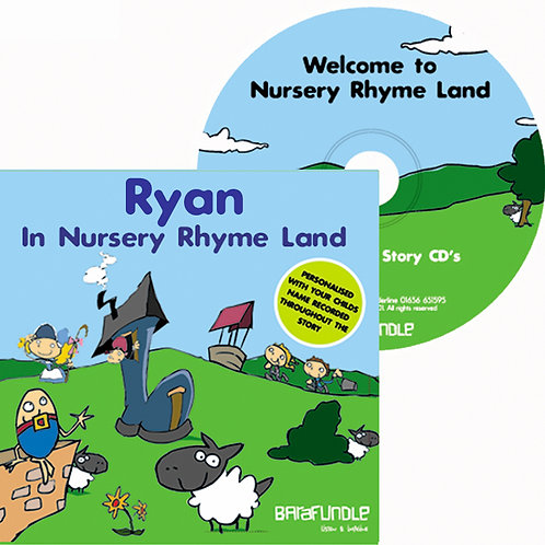 Ryan In Nursery Rhyme Land - CD