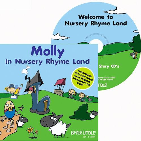 Molly In Nursery Rhyme Land - CD