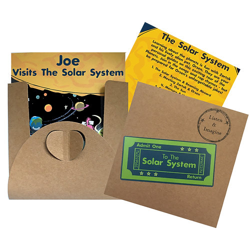 Joe Visits The Solar System - Voucher