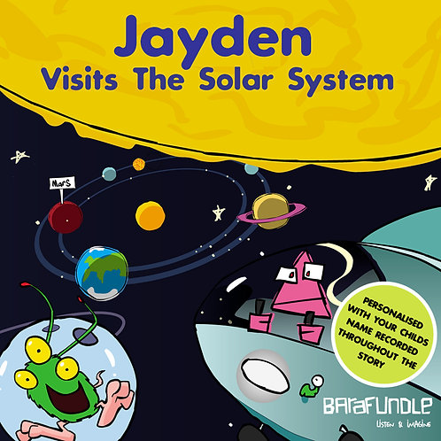 Jayden Visits The Solar System