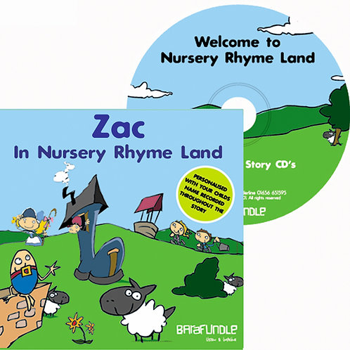 Zac In Nursery Rhyme Land - CD