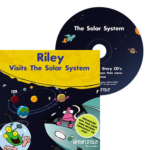 Riley Visits The Solar System - CD