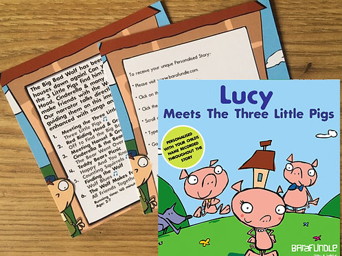 Lucy Meets The Three Little Pigs - Voucher