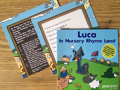 Luca In Nursery Rhyme Land - Voucher