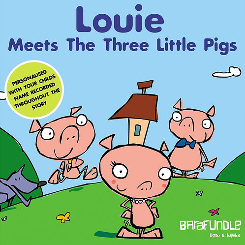 Louie Meets The Three Little Pigs - Download