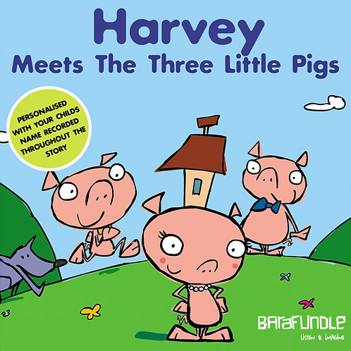 Harvey Meets The Three Little Pigs - Download