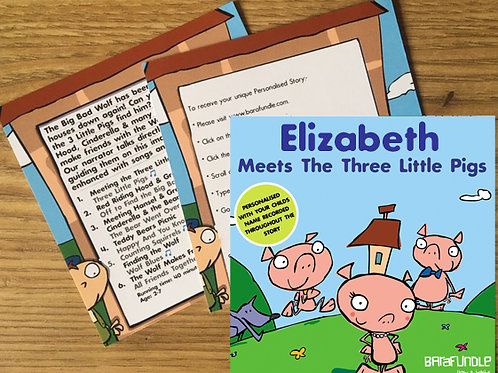 Elizabeth Meets The Three Little Pigs - Voucher