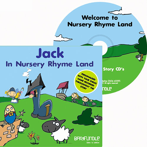 Jack In Nursery Rhyme Land - CD