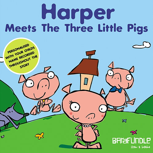 Harper Meets The Three Little Pigs - Download