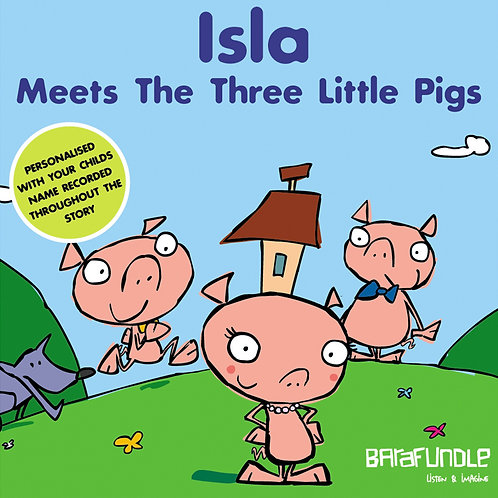 Isla Meets The Three Little Pigs - Download