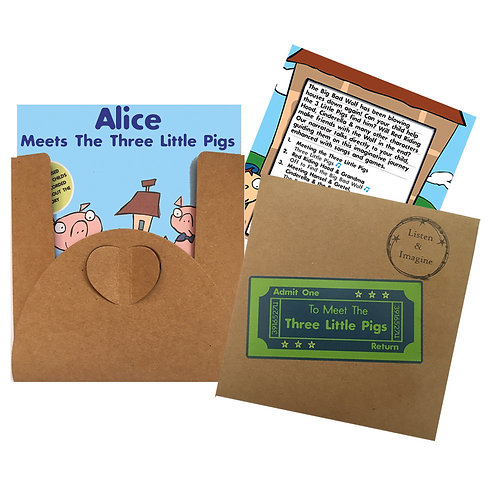 Alice Meets The Three Little Pigs - Voucher