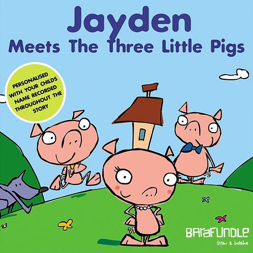 Jayden Meets The Three Little Pigs - Download