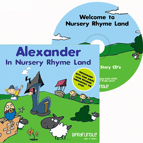 Alexander In Nursery Rhyme Land - CD