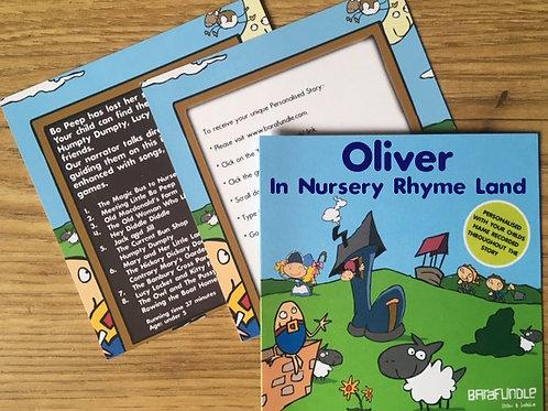 Oliver In Nursery Rhyme Land - Voucher