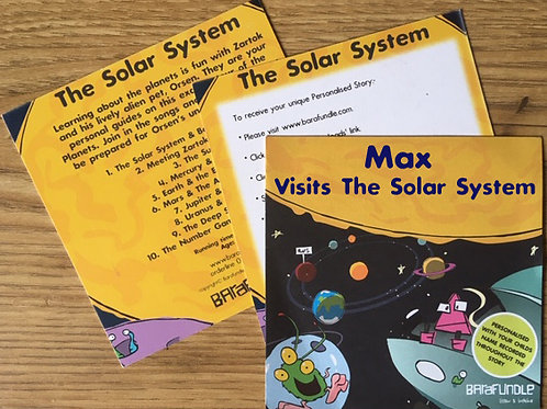 Max Visits The Solar System - Voucher