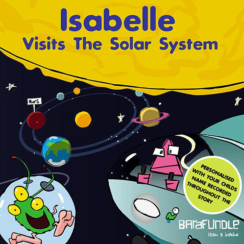 Isabelle Visits The Solar System
