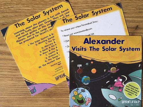 Alexander Visits The Solar System - Voucher