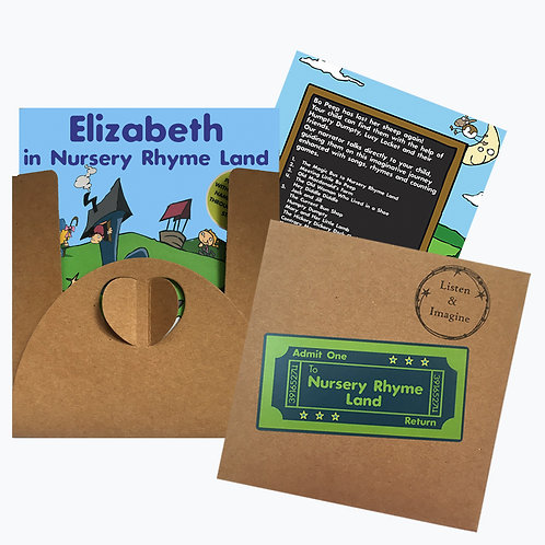 Elizabeth In Nursery Rhyme Land - Voucher