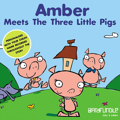 Amber Meets The Three Little Pigs - Download