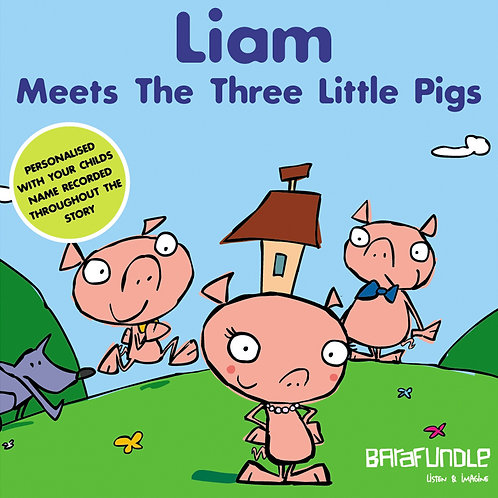 Liam Meets The Three Little Pigs - Download