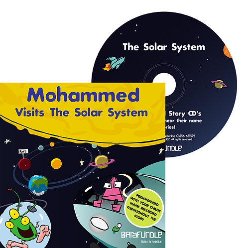 Mohammed Visits The Solar System - CD