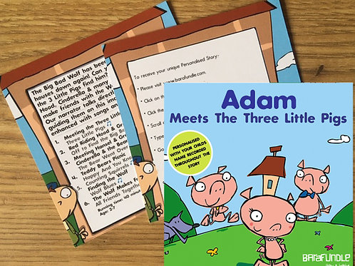 Adam Meets The Three Little Pigs - Voucher