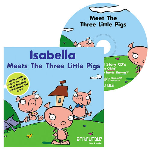 Isabella Meets The Three Little Pigs - CD