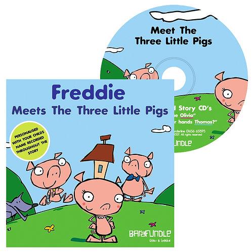 Freddie Meets The Three Little Pigs - CD