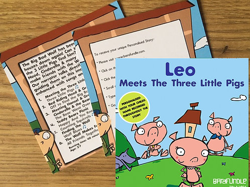 Leo Meets The Three Little Pigs - Voucher