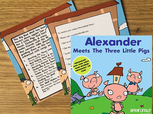 Alexander Meets The Three Little Pigs - Voucher