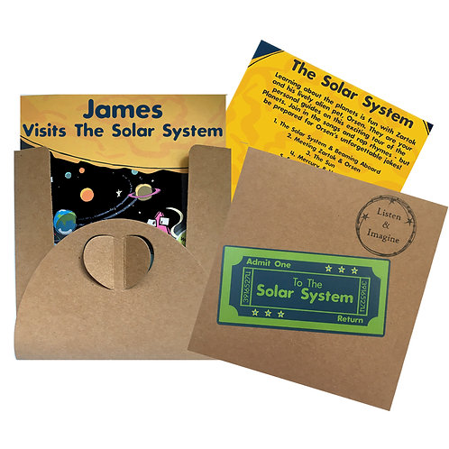 James Visits The Solar System - Voucher