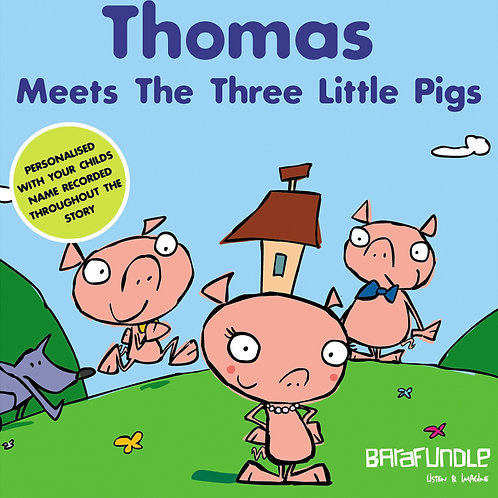 Thomas Meets The Three Little Pigs - Download